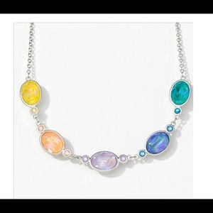 Oval Delite Touchstone Crystal Swarovski necklace
